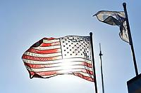 IMSA WeatherTech SportsCar Championship<br /> AMERICA'S TIRE 250<br /> Mazda Raceway Laguna Seca<br /> Monterey, CA USA<br /> Sunday 24 September 2017<br /> American Flag<br /> World Copyright: Richard Dole<br /> LAT Images<br /> ref: Digital Image RD_LS_17_301