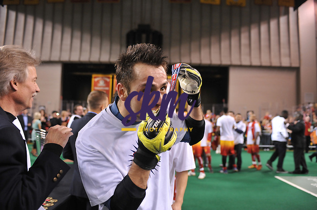 After being shut out in the first half, the Baltimore Blast rallied back to overcome the 4-0 deficit and claim their 7th MISL Championship defeating the Missouri Comets 8-6 Saturday night at First Mariner Arena.After being shut out in the first half, the Baltimore Blast rallied back to overcome the 4-0 deficit and claim their 7th MISL Championship defeating the Missouri Comets 8-6 Saturday night at First Mariner Arena.
