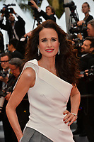 "CANNES, FRANCE. May 18, 2019: Andie MacDowell at the gala premiere for ""The Most Beautiful Years of a Life"" at the Festival de Cannes.<br /> Picture: Paul Smith / Featureflash"