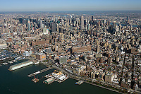 aerial photograph Chelsea, Manhattan, New York City