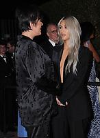 04 November  2017 - Los Angeles, California - Kris Jenner, Kim Kardashian. 2017 LACMA Art+Film Gala held at LACMA in Los Angeles. <br /> CAP/ADM/BT<br /> &copy;BT/ADM/Capital Pictures