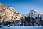 Half Dome in Yosemite Valley, Yosemite National Park, CA