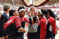 STANFORD, CA - February 27, 2014: Stanford Cardinal before Stanford's 83-60 victory over Washington at Maples Pavilion.