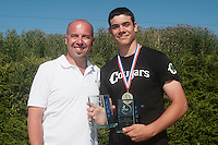 04 July 2010: Didier Seminet, Keenan Schlegel, Cougars Montigny, little league, championnat Cadets, Ronchin, France.