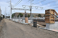 Construction Progress Railroad Station Fairfield Metro Center - Site visit 11 of once per month Chronological Documentation.