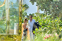 www.acepixs.com<br /> <br /> May 14 2017, Miami<br /> <br /> David Hasselhoff and Hayley Roberts enjoy the sunshine on Mother's Day on May 14, 2017 in Miami Beach, Florida. <br /> <br /> By Line: Solar/ACE Pictures<br /> <br /> ACE Pictures Inc<br /> Tel: 6467670430<br /> Email: info@acepixs.com<br /> www.acepixs.com