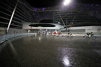 PICTURE BY MARK GREEN/SWPIX.COM ATP  Tour of Abu Dhabi - Yas Island Stage, UAE, 26/02/17<br /> The Yas Marina Circuit looked spectacular in the rain in the final stage of the 2017 Tour of Abu Dhabi.