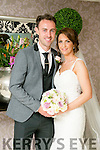 Jennifer Hegarty, Tonevane, Blennerville, daughter of Joan Hegarty, and Padraig Bailey, Tonevane, Blennerville, son of Stephan and Mary Bailey were married at Curraheen Chuch by Fr Francis on Saturday 18th June 2016 with a reception at the Earl of Desmond Hotel