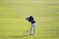 Jazz Janewattananond (THA) on the 17th fairway during Round 1 of the UBS Hong Kong Open, at Hong Kong golf club, Fanling, Hong Kong. 23/11/2017<br /> Picture: Golffile | Thos Caffrey<br /> <br /> <br /> All photo usage must carry mandatory copyright credit     (&copy; Golffile | Thos Caffrey)