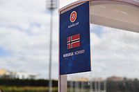 20200304  Parchal , Portugal : illustration picture showing the Norwegian bench during the female football game between the national teams of Denmark and Norway on the first matchday of the Algarve Cup 2020 , a prestigious friendly womensoccer tournament in Portugal , on wednesday 4 th March 2020 in Parchal , Portugal . PHOTO SPORTPIX.BE | DAVID CATRY