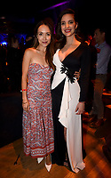 """LOS ANGELES - AUGUST 27: (L-R) Malaya Drew and Carla Baratta attend the post party at Sunset Room Hollywood following the season two red carpet premiere of FX's """"Mayans M.C"""" on August 27, 2019 in Los Angeles, California. (Photo by Frank Micelotta/FX/PictureGroup)"""