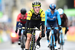 Simon Yates (GBR) Mitchelton-Scott loses the race lead by4&quot; on the finish line of Stage 8 of the 2018 Paris-Nice running 110km from Nice to Nice, France. 11th March 2018.<br /> Picture: ASO/Alex Broadway | Cyclefile<br /> <br /> <br /> All photos usage must carry mandatory copyright credit (&copy; Cyclefile | ASO/Alex Broadway)