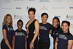 Tamara Tunie - As The World Turns with Harlem Figure Skaters at The 11th Annual Skating with the Stars Gala - a benefit gala for Figure Skating in Harlem  on April 11, 2016 on Park Avenue in New York City, New York with many Olympic Skaters and Celebrities. (Photo by Sue Coflin/Max Photos)