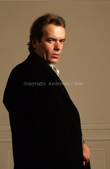 Martin Amis photographed in 1997.