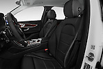 Front seat view of 2018 Mercedes Benz GLC-Class GLC300 5 Door SUV Front Seat  car photos