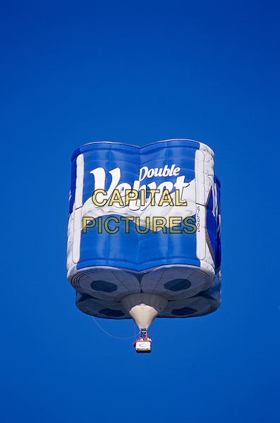 Andrex toilet tissue hot air balloon, Bristol, England