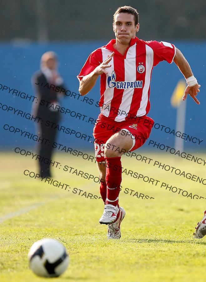 Fudbal, Kup Srbije, sezona 2010/11.Sloga (Kraljevo) Vs. Crvena Zvezda.Marko Vesovic.Kraljevo, 22.09.2010..foto: Srdjan Stevanovic/Starsportphoto ©