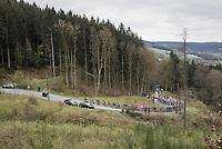 peloton up the Col du Rosier<br /> <br /> 103rd Liège-Bastogne-Liège 2017 (1.UWT)<br /> One Day Race: Liège › Ans (258km)