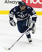 Chris Izmirlian (Yale - 25) - The Harvard University Crimson tied the visiting Yale University Bulldogs 1-1 on Saturday, January 21, 2017, at the Bright-Landry Hockey Center in Boston, Massachusetts.