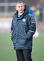 Stranraer's manager Stephen Aitken.