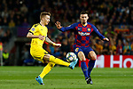 27th November 2019; Camp Nou, Barcelona, Catalonia, Spain; UEFA Champions League Football, Barcelona versus Borussia Dortmund; picture show Marco Reus control the ball