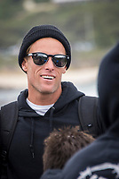 MARGARET RIVER, Western Australia/AUS (Friday, April 13, 2018) Pat Gudauskas (USA) - After back-to-back lay days, the opening of the Margaret River Pro did not disappoint today as the world&rsquo;s best surfers took on heavy six-to-eight foot (1.8 - 2.7 metre) conditions at North Point. North Point, the backup event site known for some of the longest and most intense barrels in the world, challenged the surfers in the first seven heats of men&rsquo;s Round 1 at Stop No. 3 on the World Surf League (WSL) Championship Tour. <br /> <br /> Reigning, two-time WSL Champion John John Florence (HAW) found redemption in his opening heat, overcoming wildcard Mikey Wright (AUS), who famously eliminated him in last place at Stop No. 1 on the Gold Coast earlier this year. It was bound to be a monumental heat as the reigning Margaret River Pro event winner needed to regain his footing against Wright and 2018 CT Rookie Wade Carmichael (AUS). All three competitors found incredible waves, but it was Florence whose finesse and timing in the tube saw him take the win with a 14.60 heat total (out of a possible 20).  <br />  Photo: joliphotos.com