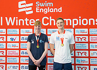 Picture by Allan McKenzie/SWpix.com - 13/12/2017 - Swimming - Swim England Winter Championships - Ponds Forge International Sport Centre - Sheffield, England - Jonathon Adam and Luke Greenbank.