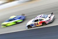 Sept. 20, 2008; Dover, DE, USA; Nascar Sprint Cup Series driver A.J. Allmendinger (84) during practice for the Camping World RV 400 at Dover International Speedway. Mandatory Credit: Mark J. Rebilas-