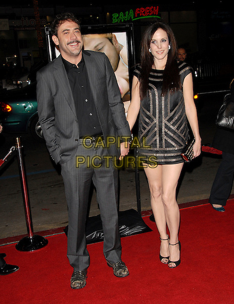 "JEFFREY DEAN WALKER & MARY LOUISE PARKER.Attends The Warner Brother Pictures' World Premiere of ""P.S. I Love You"" held at The Grauman's Chinese Theatre in Hollywood, California, USA, December 09 2007.                                                                     full length.CAP/DVS.©Debbie VanStory/Capital Pictures"
