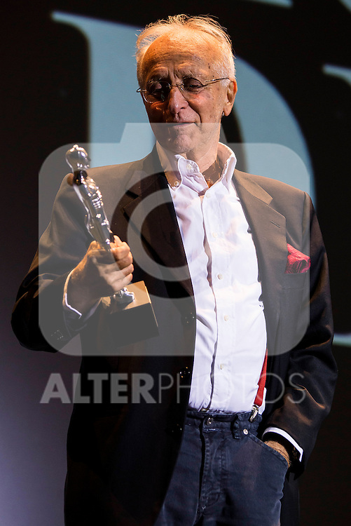 American director Ruggero Deodato receive the Maria Honorifica Award at Festival de Cine Fantastico de Sitges in Barcelona. October 11, Spain. 2016. (ALTERPHOTOS/BorjaB.Hojas)