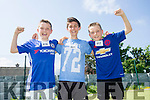 l-r  Mark Brick, Tommy Byrnes and Conor Brick at the  Donal Walsh Spa 6k Challenge and family fun day at Spa NS on Sunday