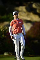 The 2018 Kia Classic Champion Eun-Hee Ji (KOR) on the 18th green during the Final Round at the Kia Classic,Park Hyatt Aviara Resort, Golf Club &amp; Spa, Carlsbad, California, USA. 3/25/18.<br /> Picture: Golffile | Bruce Sherwood<br /> <br /> <br /> All photo usage must carry mandatory copyright credit (&copy; Golffile | Bruce Sherwood)