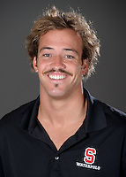 STANFORD, CA - September 9, 2010: Tim Norton, 2010 Waterpolo portraits.