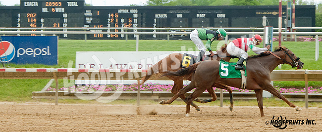 Princess Appeal winning at Delaware Park on 5/18/13