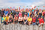 Pictured at Glin Charity Swim in aid of West Limerick Children's Services which took place in Glin on Sunday were the swimmers, lifeguards, volunteers and supporters.