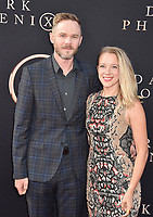 "HOLLYWOOD, CA - JUNE 04: Shawn Ashmore (L) and Dana Wasdin arrive at the Premiere Of 20th Century Fox's ""Dark Phoenix"" at TCL Chinese Theatre on June 04, 2019 in Hollywood, California.<br /> CAP/ROT/TM<br /> ©TM/ROT/Capital Pictures"
