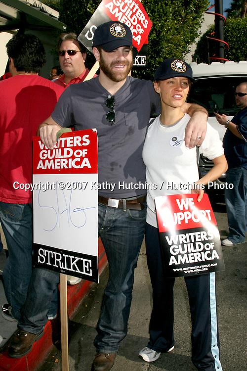 Actors Support WGA Strike @ Paramount Studios- Los Angeles