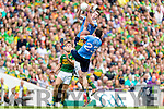 Kieran Donaghy Kerry in action against Brian Fenton Michael Darragh Macauley Dublin in the All Ireland Senior Football Semi Final at Croke Park on Sunday.