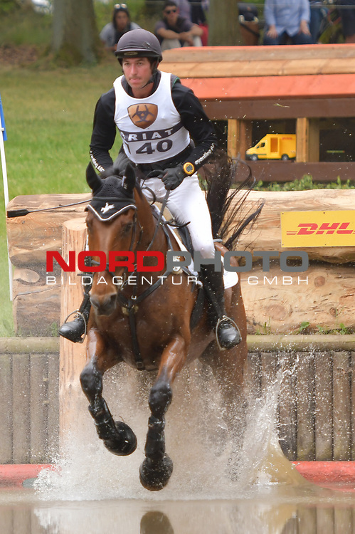 16.06.2018,  GER;  Luhmuehlen 2017, Vielseitigkeit, Gelaendepruefung C***, Deutsche Meisterschaft, im Bild  Nicolai Aldinger (GER) auf Tactic am DHL Komplex Foto © nordphoto / Witke *** Local Caption ***