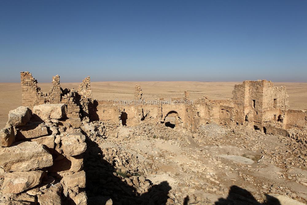 Ojalá emulsión traidor  Qsar Bshir, Mobene fortress, el-Qatrana, Jordan desert, Jordan   Manuel  Cohen