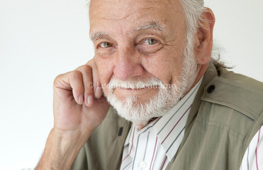 George Romero, director, Milano 2010-  © Leonardo Cendamo