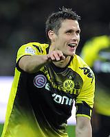 FUSSBALL   1. BUNDESLIGA   SAISON 2011/2012    14. SPIELTAG Borussia Dortmund - FC Schalke 04      26.11.2011 Sebastian KEHL (Dortmund) jubelt nach dem Abpfiff
