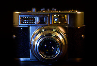 Voightlander 35mm Vintage Camera photograqphed in the studio.  (Photo by Brian Cleary/www.bcpix.com)