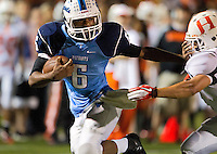 Yorktown vs Hayfield Football 2011