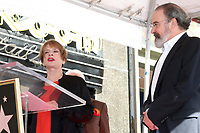 LOS ANGELES - FEB 12:  Patti LuPone, Mandy Patinkin at the Mandy Patinkin Star Ceremony on the Hollywood Walk of Fame on February 12, 2018 in Los Angeles, CA