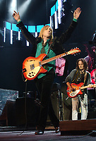 02 October 2017 - Tom Petty, whose Florida-bred quintet the Heartbreakers was one of the defining arena-rock acts of the 1970s with hits like &ldquo;Breakdown,&rdquo; has died after suffering a heart attack Sunday at his home. He was 66. American musician, singer, songwriter, multi instrumentalist and record producer. He is best known as the lead singer of Tom Petty and the Heartbreakers, but is also known as a member and co-founder of the late 1980s supergroup the Traveling Wilburys (under the pseudonyms of Charlie T. Wilbury Jr. and Muddy Wilbury), and his early band Mudcrutch. Petty has recorded a number of hit singles with the Heartbreakers and as a solo artist, many of which are mainstays on adult contemporary and classic rock radio. In 2002, Petty was inducted into the Rock and Roll Hall of Fame. File Photo: 2016 August 8. Tom Petty. <br /> CAP/ADM/JLN<br /> &copy;JLN/ADM/Capital Pictures