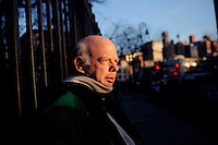 USA. Manhattan . 24th March 2009.Wallace Shawn..©Andrew Testa.