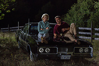 Jason Clarke &amp; Kate Mara.<br /> Chappaquiddick (2017) <br /> *Filmstill - Editorial Use Only*<br /> CAP/RFS<br /> Image supplied by Capital Pictures