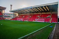 Barnsley's the CK Beckett stand before the Sky Bet Championship match between Barnsley and Leeds United at Oakwell, Barnsley, England on 25 November 2017. Photo by Stephen Buckley / PRiME Media Images.