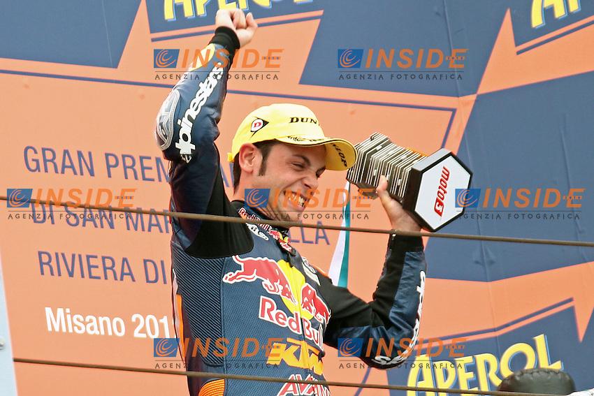 Sandro Cortese - Red bull KTM Ajo.Misano 16/09/2012 MotoGP - Motomondiale San Marino.Foto Semedia/Insidefoto .ITALY ONLY...